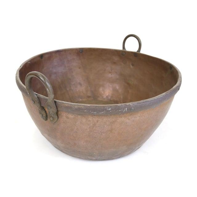 Large Brazilian Copper Pot - Image 4 of 8