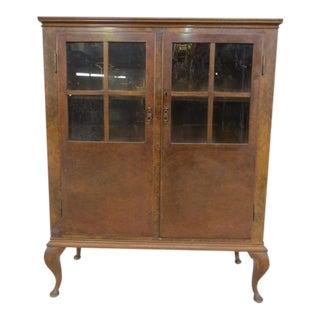 Vintage Book Cabinet For Sale