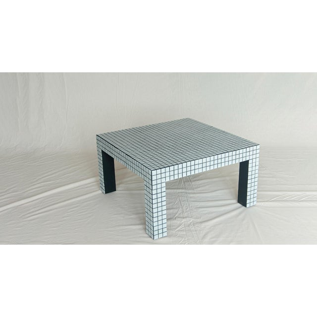Superstudio Coffe Tiled Table For Sale - Image 10 of 10