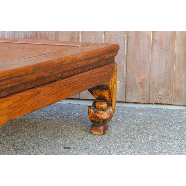 Wood Grand Antique Opium Table For Sale - Image 7 of 10