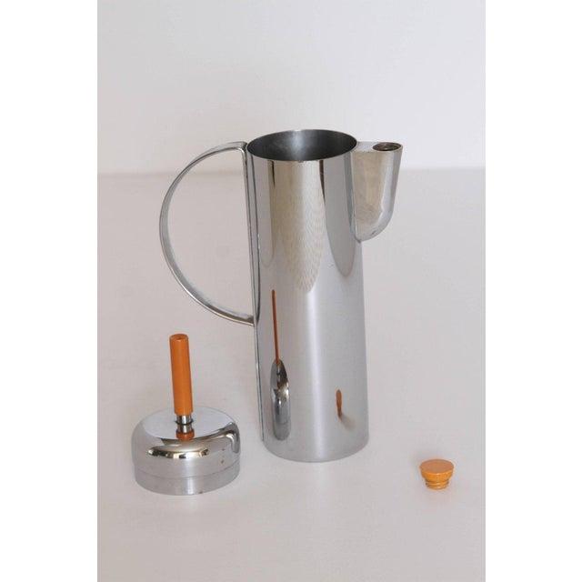 Bakelite Machine Age Art Deco Empire Cocktail Shaker, William Archibald Welden for Revere For Sale - Image 7 of 11