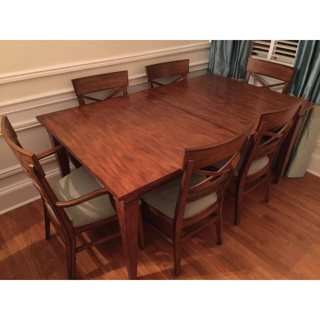 Ethan Allen Dining Table & Chairs - Image 2 of 8