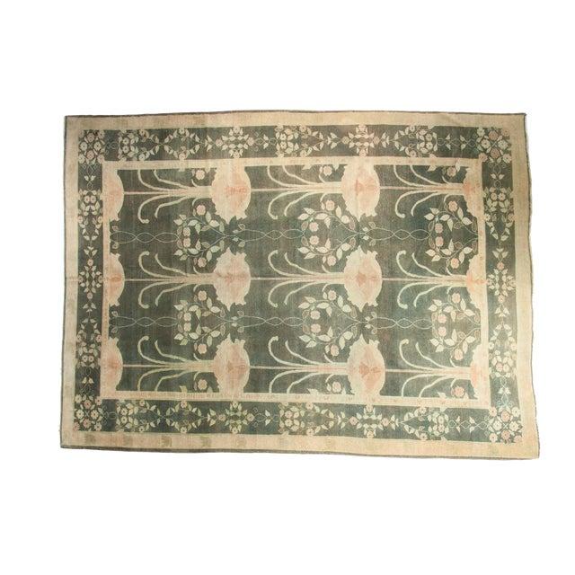 """Vintage Indo Donegal Carpet - 8'8"""" x 11'9"""" - Image 1 of 9"""