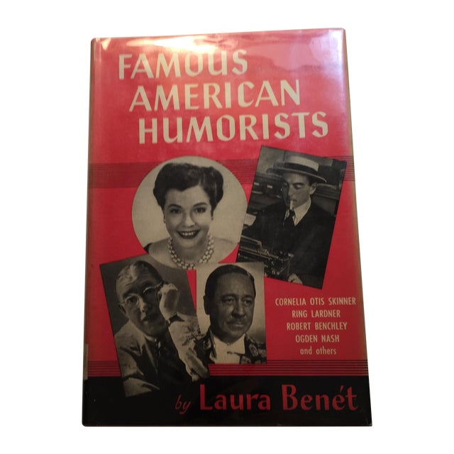 Famous American Humorists by Laura Benet For Sale