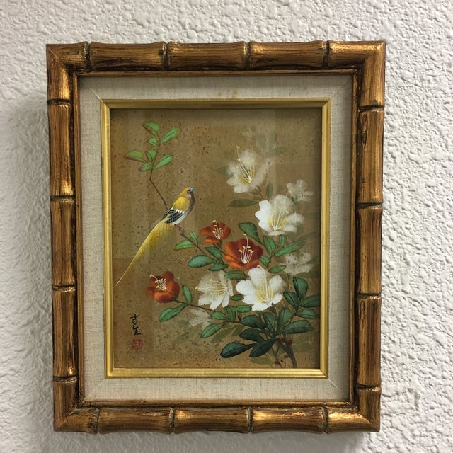 A Pair of Chinoiserie Framed Prints - Image 3 of 8