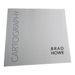 Brad Howe Cartography 2015 Catalog Artist Sculpture New For Sale