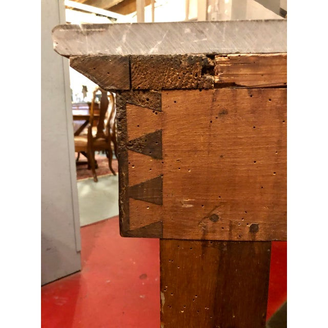 French Empire Country Console For Sale - Image 10 of 12