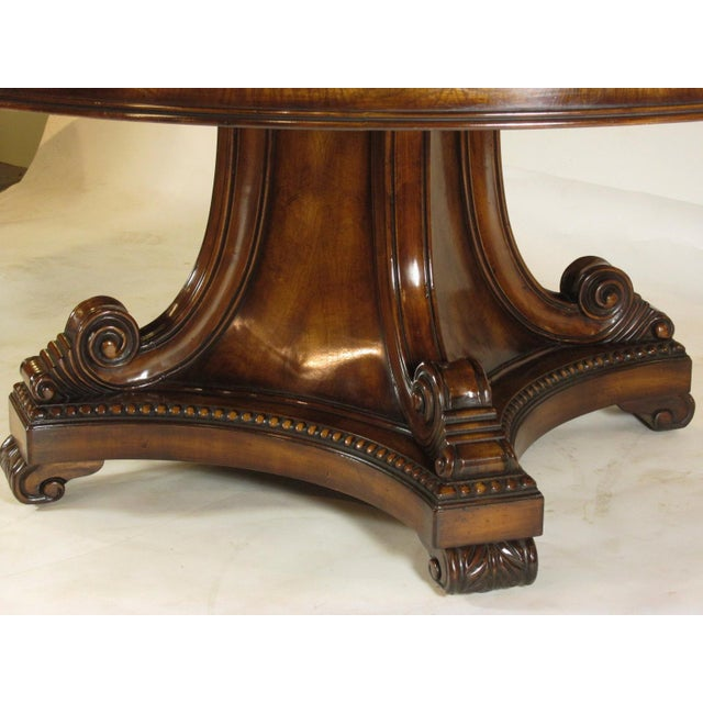 Wood Louis XVI Karges Grand Center Table For Sale - Image 7 of 11