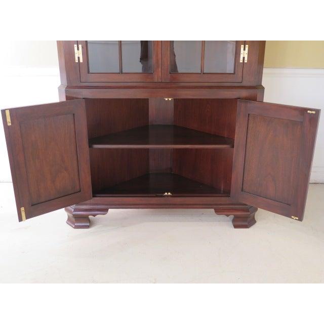 Henkel Harris Mahogany Welford Corner Cabinet - Image 8 of 11