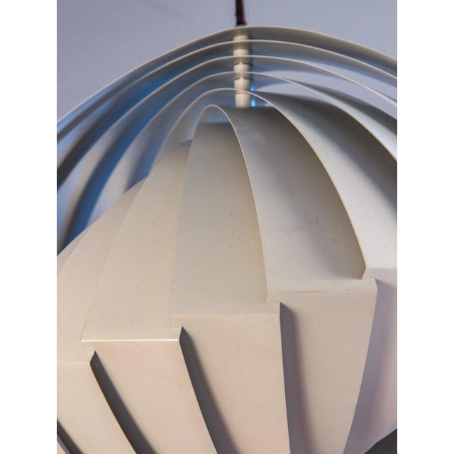 Louis Weisdorf Danish Konkylie Sculptural Pendant Light by Louis Weisdorf For Sale - Image 4 of 7