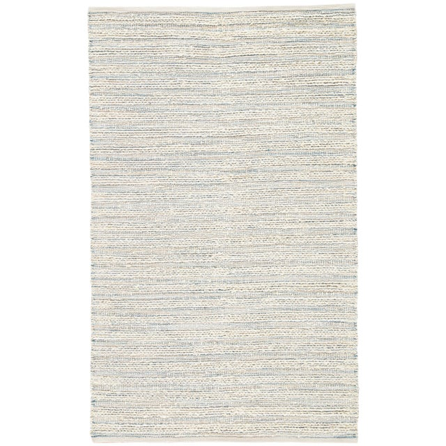 Jaipur Living Canterbury Natural Stripe White/ Blue Area Rug - 9' X 12' For Sale In Atlanta - Image 6 of 6