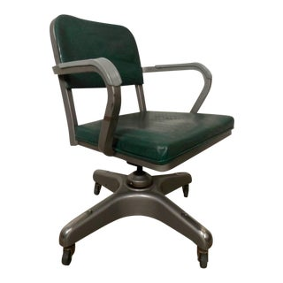 Mid-Century Heavy Duty Desk Chair By Metal-Lux