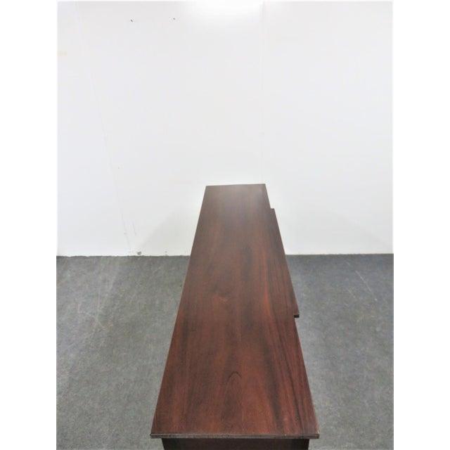 Madison Furniture Hepplewhite Madison Square Solid Mahogany Sideboard For Sale - Image 4 of 10