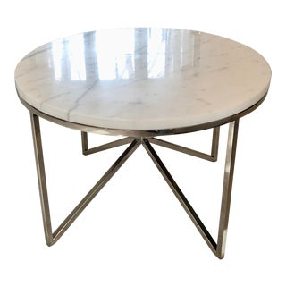 Bolier & Company by Decca Marble Top Cocktail Table For Sale