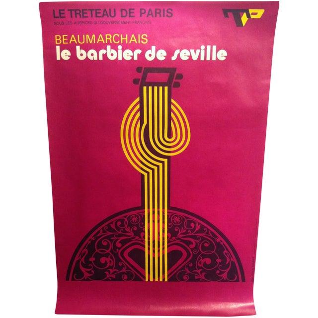 "French""Barbier De Seville"" Lenglart Lithograph - Image 1 of 6"