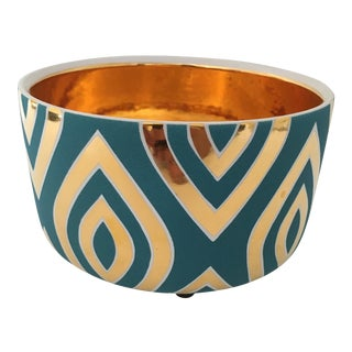 Mid-Century Style Waylande Gregory Ceramic Bowl For Sale