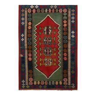 1940's Vintage Konya Design Kilim Rug For Sale