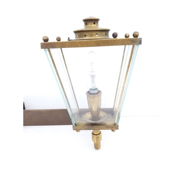 Large French Bronze 2 Lights Sconce Circa 1950's For Sale In Miami - Image 6 of 9