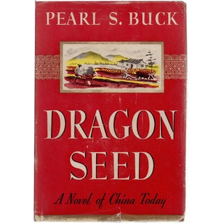 """""""Dragon Seed"""" 1942 Hardcover Book by Pearl S. Buck"""