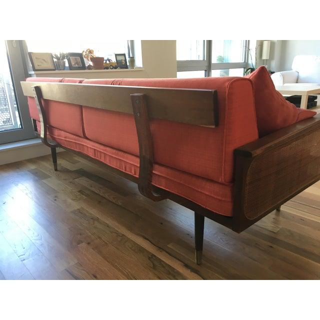 Radio Weave Danish Modern Sofa - Image 5 of 5