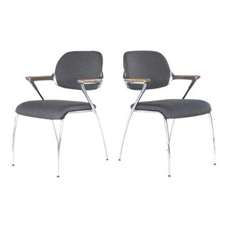 1980s Vintage Francesco Zaccone for Thonet 'Golf' Chairs - a Pair For Sale