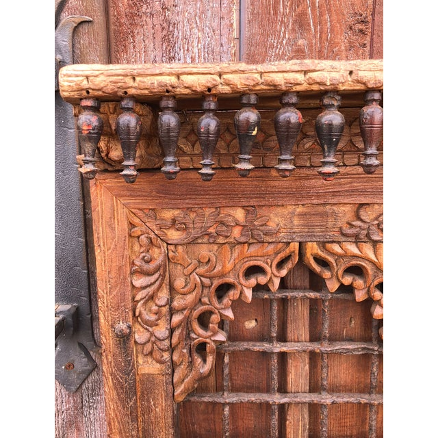 Late 19th Century 19th Century Anglo Indian Door For Sale - Image 5 of 9