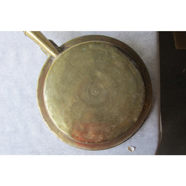 Brass 18th Century Brass Bedwarmer For Sale - Image 7 of 9
