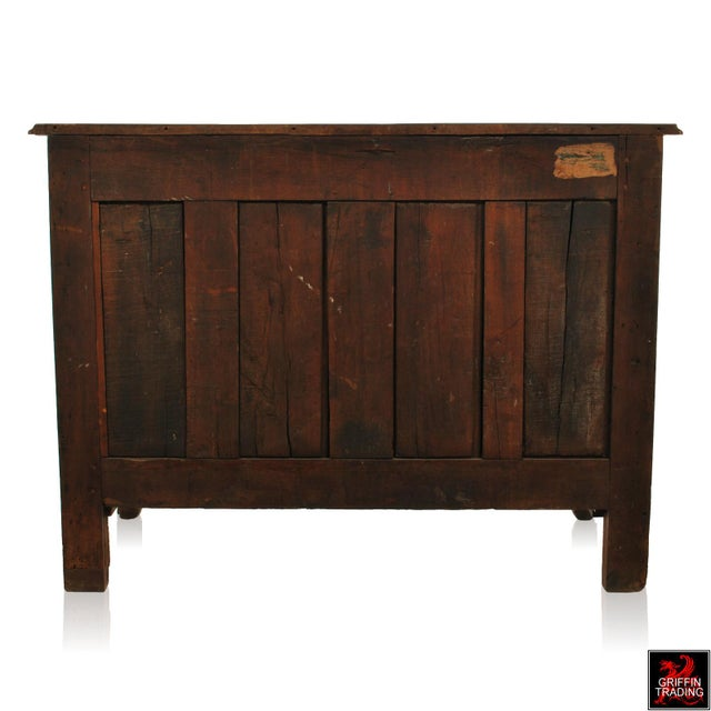 Large 18th Century Louis XV Period Walnut Commode or Chest of Drawers For Sale - Image 12 of 13