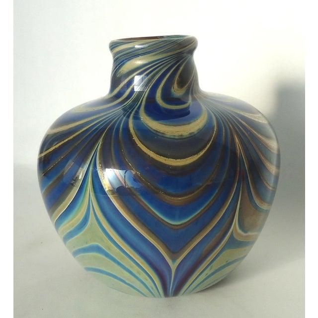 Vintage Studio Glass Vase - Image 2 of 7