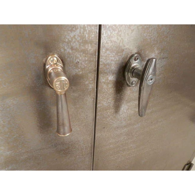 Heavy Duty Industrial Metal Cabinet For Sale - Image 4 of 9