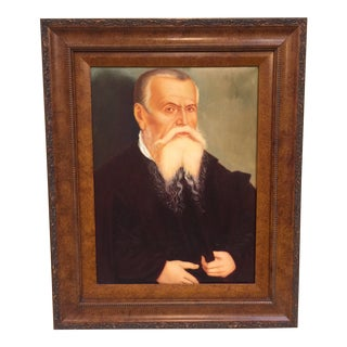 Oil Painting Lucas Self Portrait For Sale