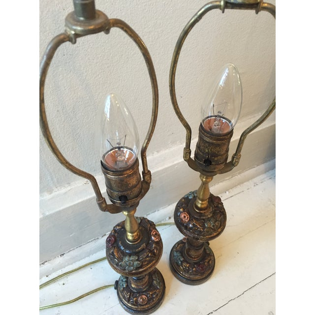 Little Lady Bedroom Lamps - 2 For Sale In Chicago - Image 6 of 7