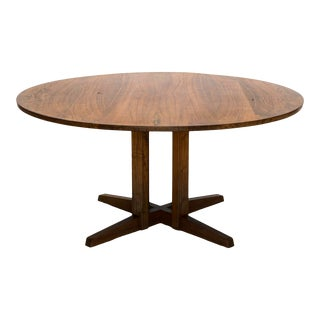 Early George Nakashima Round Cluster Table, United States, 1958 For Sale