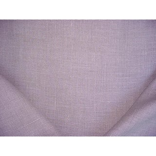 3-1/8y Ralph Lauren Lcf67096f Laundered Linen Stone Gray Upholstery Fabric For Sale