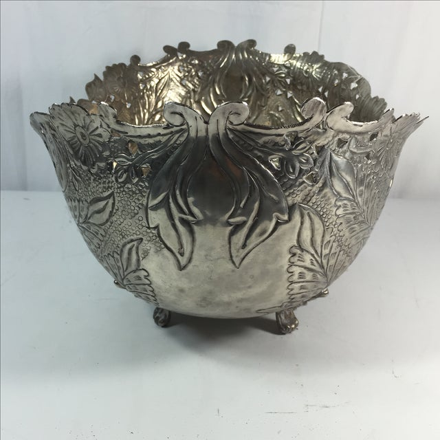 Silver Plated Planter - Image 6 of 6