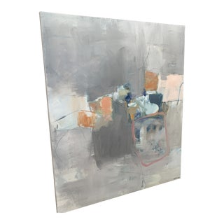"""""""Out of the Box"""" Abstract Oil by Stephanie Wheeler For Sale"""