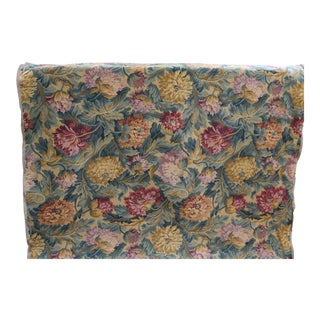 Vintage Floral Tapestry Upholstery Fabric For Sale