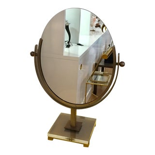 1960s Vintage Charles Hollies Jones Double Sided Mirror For Sale