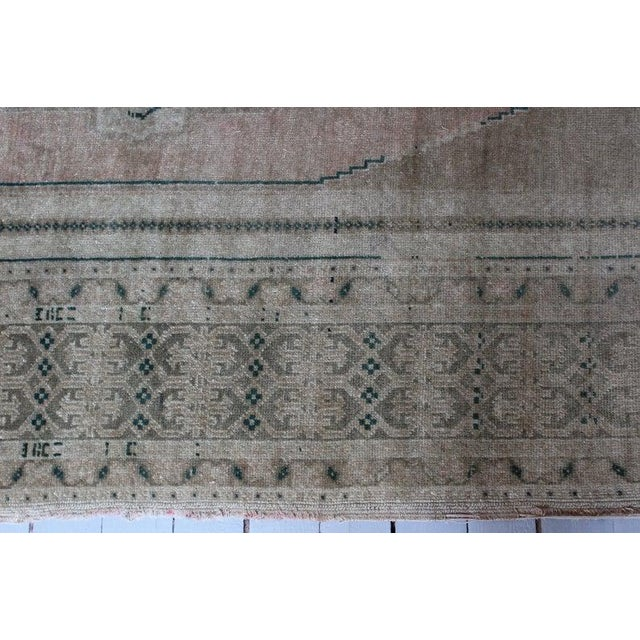Textile Vintage Hand Knotted Anatolian Rug For Sale - Image 7 of 10