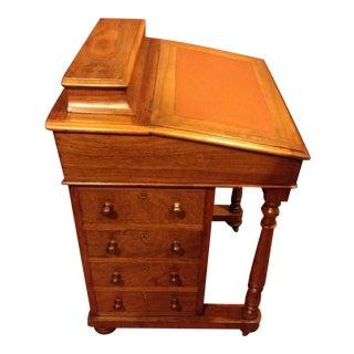 Antique 1830s Pre Civil War Era Davenport Slant Desk