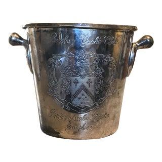 Bombay Yacht Club Prince of Wales Regatta Trophy Champagne Ice Bucket