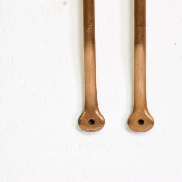 Mid-Century Modern Mid Century Modern Oversize Bronze Pull Door Handles For Sale - Image 3 of 5