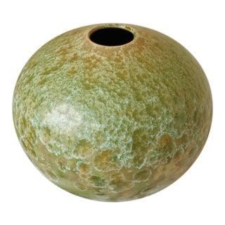 1982 Crystalline Glazed Vase by Len Lindsey For Sale