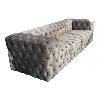"Custom to Order ""Modern Tufting"" Collection Sofa For Sale"