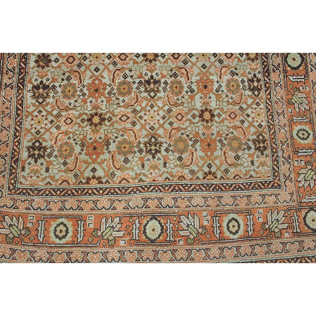 This is a genuine 100% hand-knotted Persian Tabriz. This rug is a replica of Tabriz Haji Jalili, which was done more than...