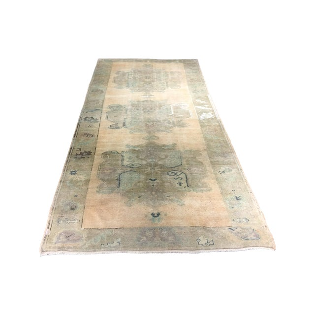 Turkish Oushak Rug - 5′ × 10′4″ - Image 1 of 8