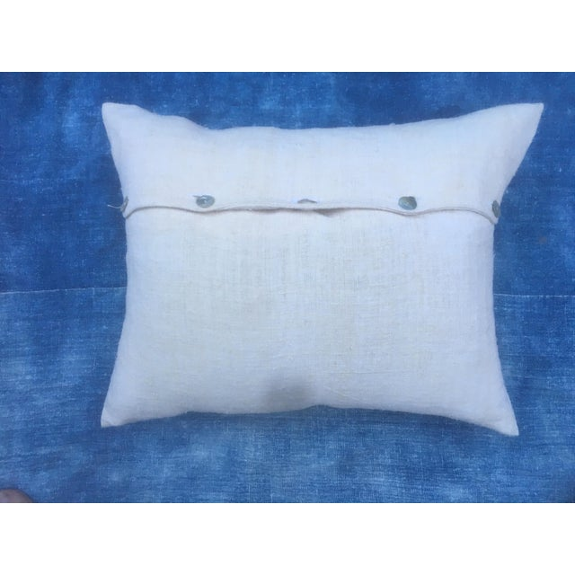 European Grain Sack Pillow For Sale - Image 5 of 6