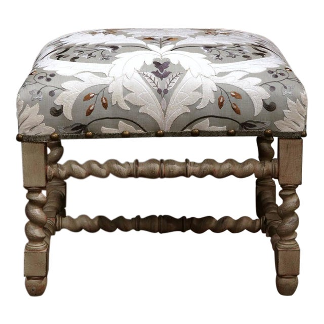 Early 20th Century French Carved & Painted Stool - Image 1 of 7