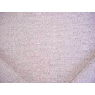 Traditional Perennials in the Loop Whitewash Outdoor Boucle Upholstery Fabric - 2-5/8y For Sale