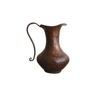 Hammed Solid Copper Ewer